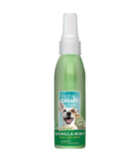 Tropiclean Oral Care Vanilla Mint Spray 4oz