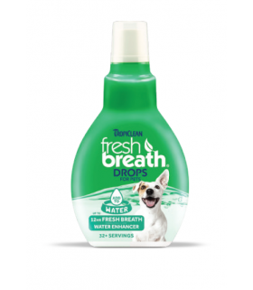 Tropiclean Fresh Breath Drops For Pets 2.2oz