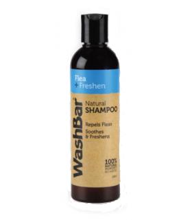 WashBar Flea+Freshen 100% Natural Shampoo 250ml