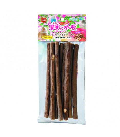 Marukan Peach Tree Twigs for Small Animals 10pc