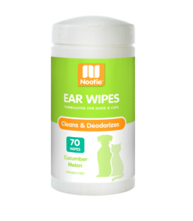 Nootie Ear Wipes Cucumber Melon 70wipes for Dogs & Cats