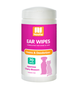Nootie Ear Wipes Japanese Cherry Blossom 70wipes for Dogs & Cats