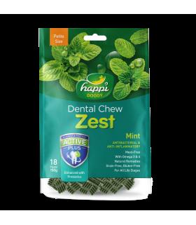 Happi Doggy Dental Chew Zest Mint
