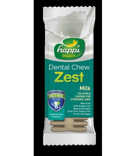 Happi Doggy Dental Chew Zest Milky Dental Chew Zest Apple Petite