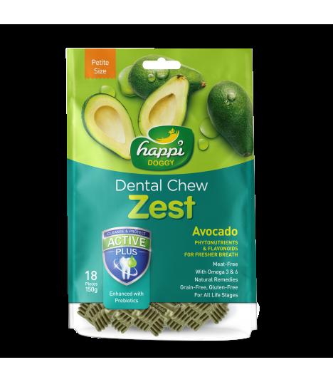 Happi Doggy Dental Chew Zest Avocado