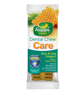 Happi Doggy Dental Chew Care Fennel Grass & Honey