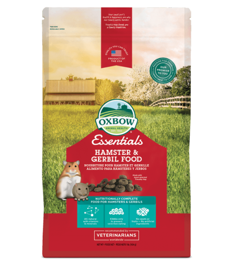 Oxbow Essentials Hamster & Gerbil Food 1lb