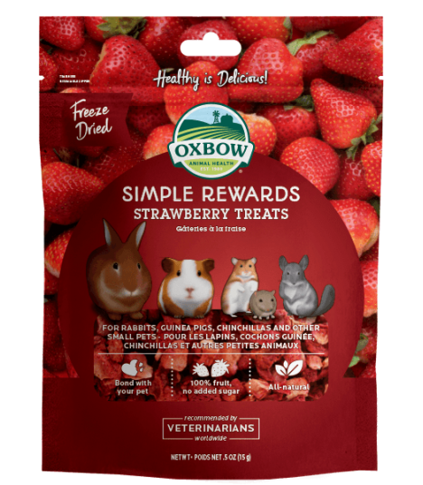 Oxbow Simple Rewards Strawberry 15g