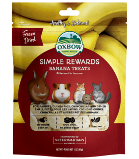 Oxbow Simple Rewards Banana 30g