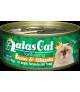 Aatas Tantalizing Tuna & Tilapia In Aspic Canned Cat Food 80g x 24