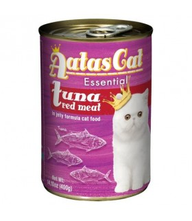 Aatas Essential Tuna Red Meat In Jelly Canned Cat Food 400g x 24