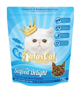 Aatas Seafood Delight Dry Cat Food 1.2kg
