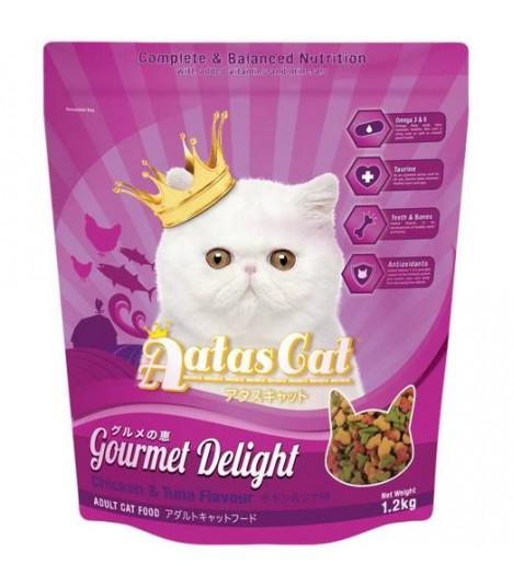 Aatas Gourmet Delight Chicken & Tuna Dry Cat Food 1.2kg