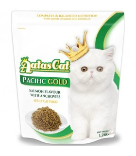 Aatas Pacific Gold Salmon with Anchovies Dry Cat Food 1.2kg
