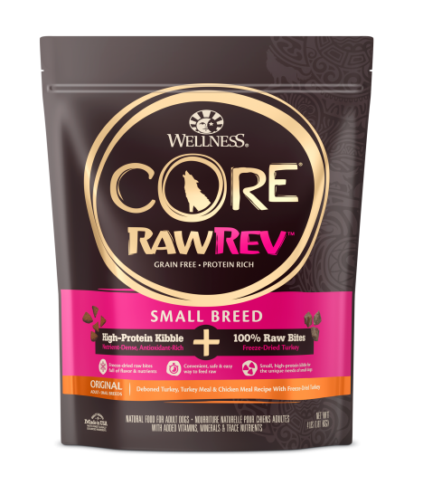 Wellness RawRev Original for Small Breed