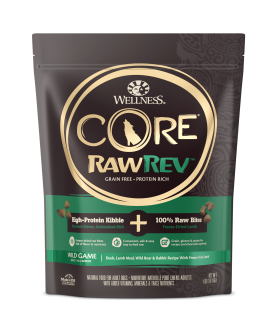 Wellness RawRev Wild Game with Freeze Dried Lamb for Adult Dog