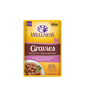 Wellness Healthy Indulgence Tuna & Mackerel Gravies 3oz