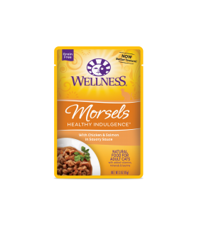Wellness Healthy Indulgence Morsels Chicken & Salmon 3oz