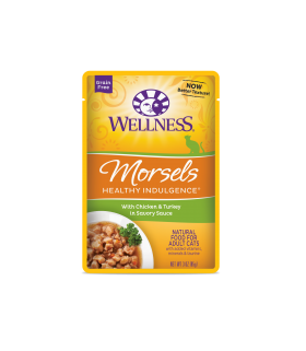Wellness Healthy Indulgence Morsels Chicken & Turkey 3oz