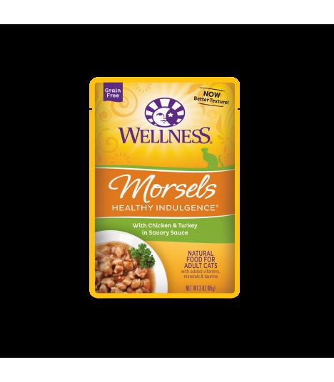 Wellness Healthy Indulgence Morsels Chicken & Turkey 3oz