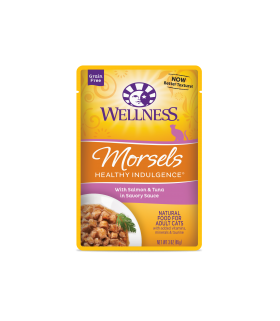 Wellness Healthy Indulgence Morsels Salmon & Tuna 3oz
