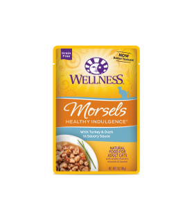 Wellness Healthy Indulgence Morsels Turkey & Duck 3oz