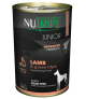 Nutripe Junior Lamb with Green Tripe Dog Canned Food 390g x 24