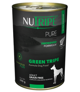 Nutripe Pure Green Tripe Dog Canned Food 390g x 24