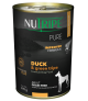 Nutripe Pure Duck with Green Tripe Dog Canned Food 390g x 24
