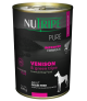 Nutripe Pure Venison with Green Tripe Dog Canned Food 390g x 24