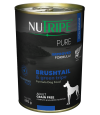 Nutripe Pure Brushtail with Green Tripe Dog Canned Food 390g x 24