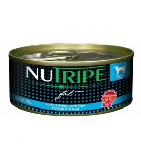 Nutripe Fit Lamb & Green Lamb Tripe Canned Cat Food 95g