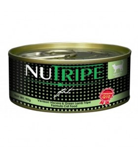 Nutripe Fit Venison & Green Lamb Tripe Canned Cat Food 95g x 24