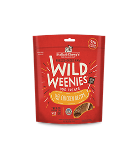 Stella & Chewy Wild Weenies Cage Free Chicken 3.25oz