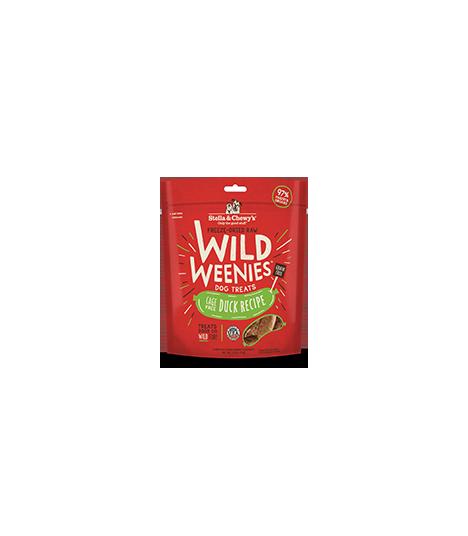 Stella & Chewy Wild Weenies Cage Free Duck 3.25oz