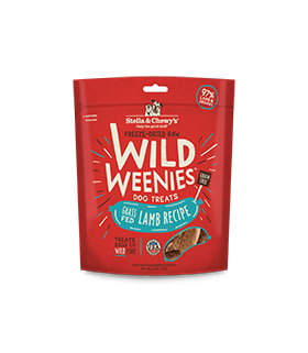 Stella & Chewy Wild Weenies Grass Fed Lamb 3.25oz