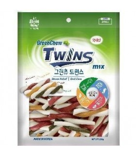 Bow Wow Green Chew Dental Twins 250g
