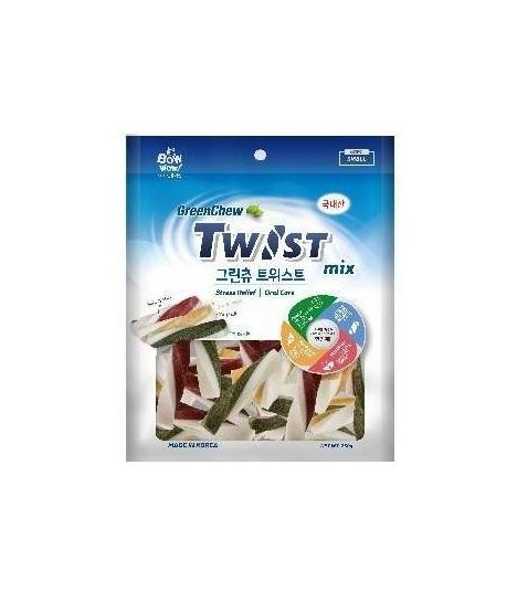 Bow Wow Green Chew Dental Twins 250g