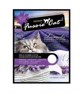 Fussie Cat Litter Lavender 10L