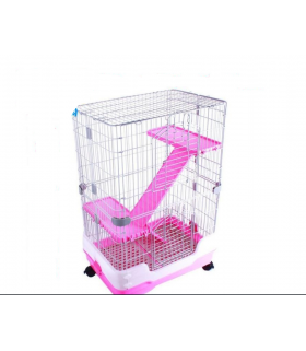 Small Animal Cage with Pull Out Tray