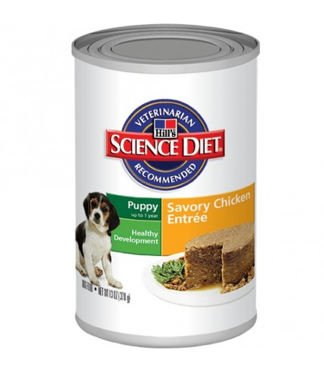 Puppy Savory Chicken Entrée 13oz X12cans