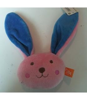 Pink Rabbit Squeaky Toy