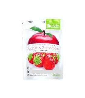 Jp127 Apple & Strawberry Snack 20g