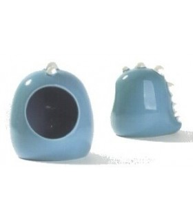 AM088 Blue Dino Ceramic House