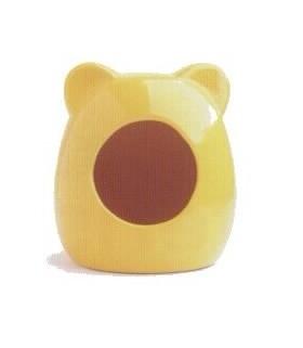 AM105 Yellow Ceramic House