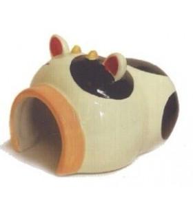 AM061 Little Cow Ceramic House