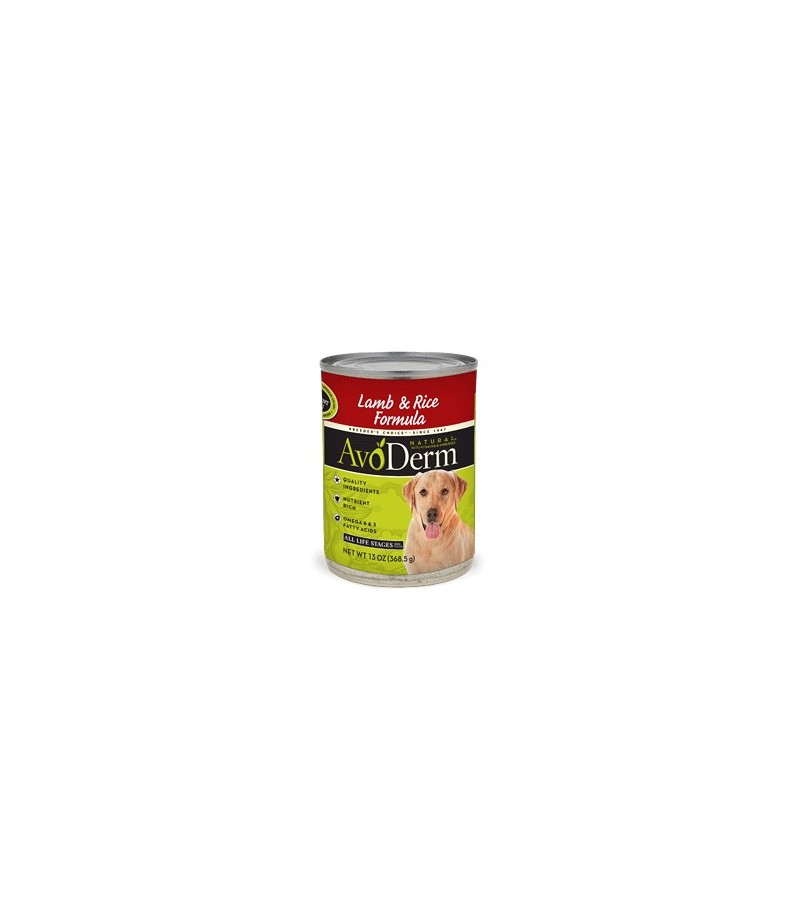 Avoderm Natural Lamb Amp Rice Canned 13 2oz