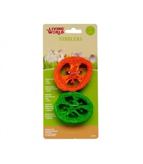 Hagen Living World Nibblers Loofah Chews Slices