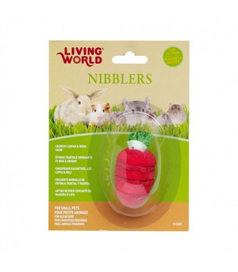 Hagen Living World Nibblers Wood/Loofah Chews Strawberry