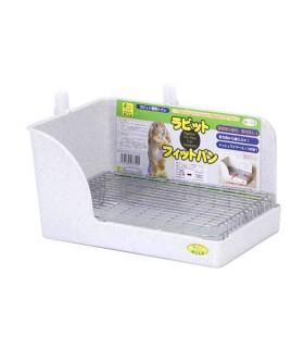 Wild Sanko Rabbit Corner Litter Pan with Dropper